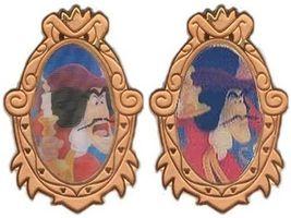Disney Captain Hook Villain Lenticular  from Peter Pan  LE pin/pins - $35.99
