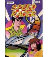 Speed Racer, Vol 1 #6 - Hollywood Challenge [Comic] [Jan 01, 1987] Lamar Waldron - $2.81