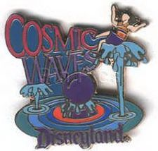 Disney DL 1998  attraction Cosmic WavesTomorrowland Pin/Pins - $26.99