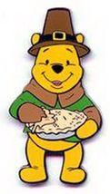 Disney DLR Thanksgiving Day Winnie the Pooh  as a pilgrim Pin/Pins - $27.99