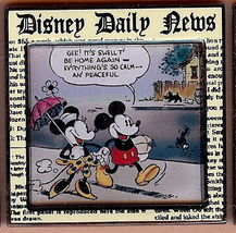 Disney Daily News Comic Strip Series #1  Pin/Pins - $29.99