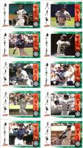 2000 ken griffey jr seattle mariners ud victory 10 baseball cards - $14.99