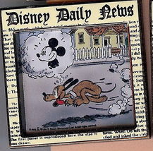 Disney Daily News Comic Strip Series #2   Pin/Pins - $29.99