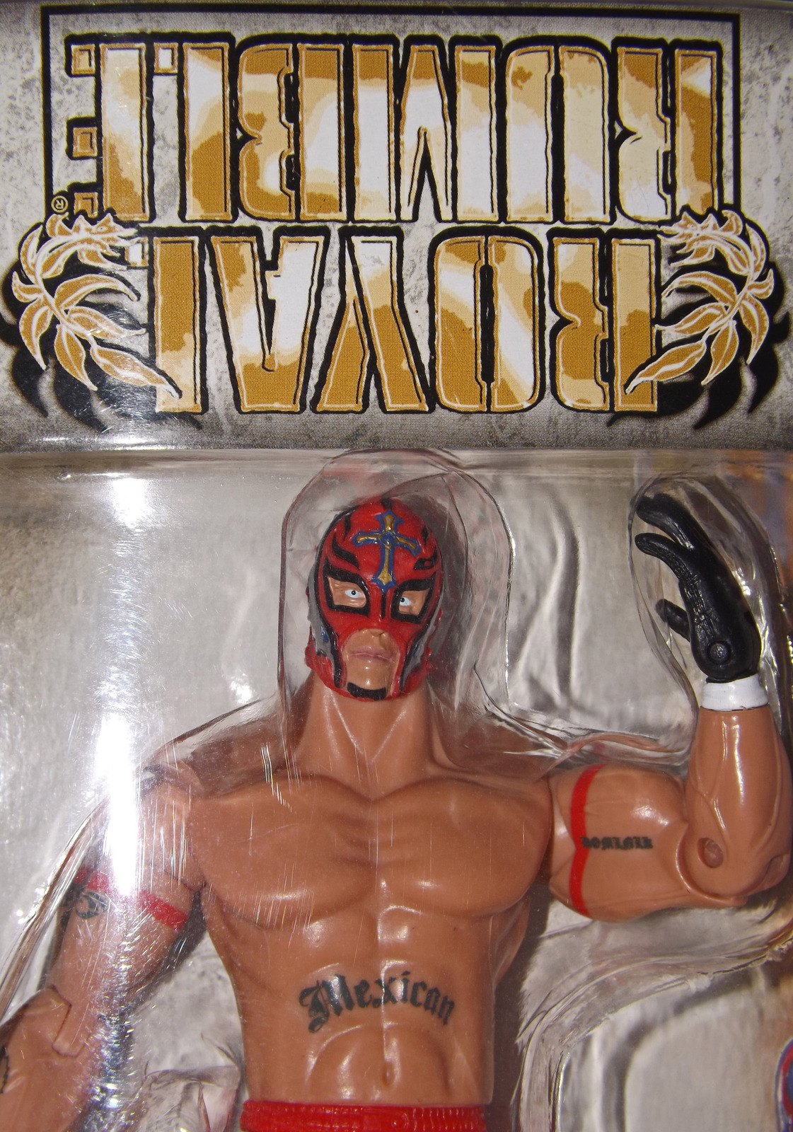 Primary image for 2006 WWE, Rey Mysterio, Royal Rumble, Error Packaging