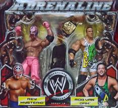 2005 WWE Rey Mysterio/Rob Van Dam Adrenaline Se... - $39.95