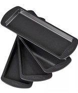 Wilton Easy Layers! Loaf Pan Cake Set, 4-Piece 10 x 4-Inch, 2105-0911 - $16.46