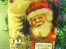 """""""Santa Claus is Coming to Town"""" Christmas Countdown Hanging Wall Decor image 3"""
