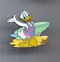 Disney Donald Duck Surfing pro German Pin/Pins - $19.98
