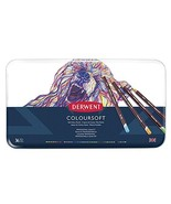 Derwent Colored Pencils, ColourSoft Pencils, Drawing, Art, Metal Tin, 36... - $56.22