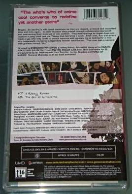 Sony PSP UMD VIDEO - SAMURAI CHAMPLOO Volume 2 (Anime) - NEW
