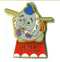 Disney Dumbo Flying Elephent  WDW Fantasyland Ride pin/pins - $15.83