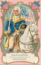 Washington Takes Command Vintage Post Card  - $7.00