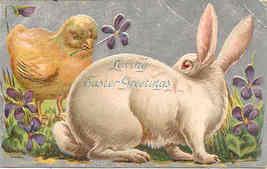 Loving Easter Greetings Vintage 1915 Post Card - $3.00