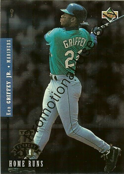 Primary image for 1994 upper deck promo card ken griffey jr seattle mariners baseball card