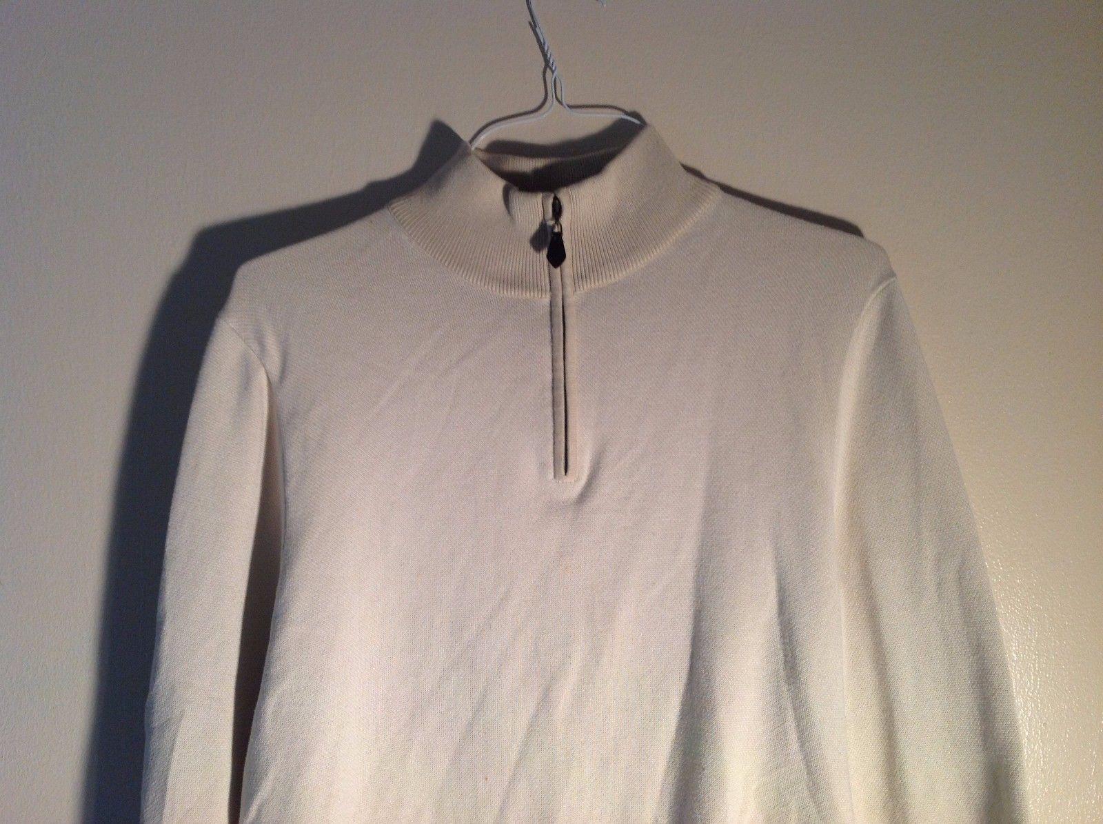Brooks Brothers Long Sleeve zip-up shirt Size Medium