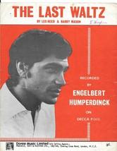 Engelbert Humperdinck - The Last Waltz sheet music - $7.58