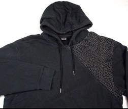 Nike Air Jordan Jumpman Hoodie Sweatshirt Black Sz L GUC - $36.62