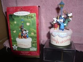 Disney Goofy Mickey and Minnie Musical  ornament  Original Box - $35.99