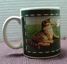Vintage Vandor Herrero Collection CAT WITH GOOSE Coffee Mug // Tea/Coffe... - $7.00