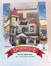 NOMA Dickensville Collectables Porcelain House ... - $28.04