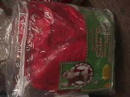NEW REGAL - XL 50-56 Plush Santa Suit Santa 6 piece costume  - $69.28