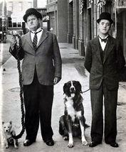 Laurel and Hardy TKK Vintage 16X20  BW TV Memorabilia Photo - $29.95