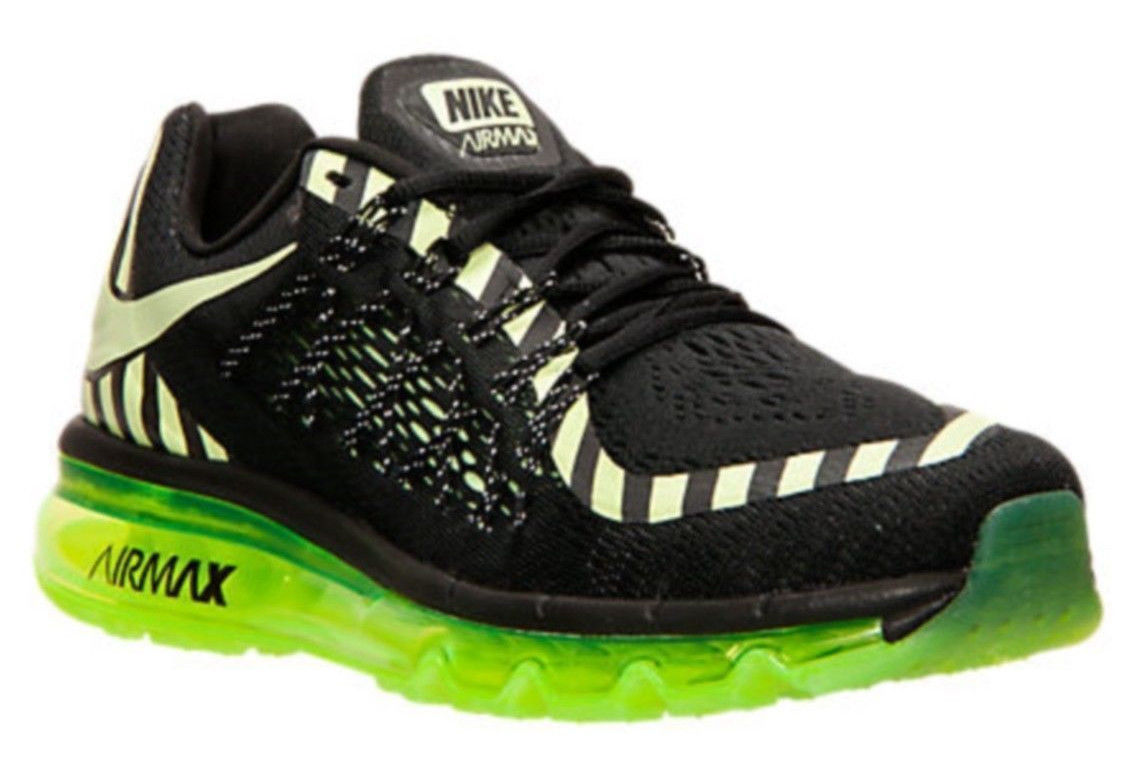 separation shoes 98bf2 68612 NIKE Air Max 2015 NR sz 10 Black Liquid Lime and similar items. 57