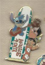 Disney Lilo & Stitch Gang with Surfboard Logo Pin/Pins - $23.36