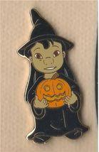 Disney Lilo & Stitch Halloween Lilo as Witch jack-o-lantern  Pin/Pins - $19.34