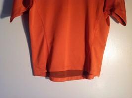 Small Orange sportswear Tee Short sleeve image 3