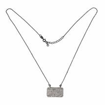Women Wedding Shiny Necklace with White Topaz Gemstone 925 Sterling SHNL0018 - $17.72