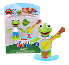 "Disney Junior Muppet Babies Poseable Kermit 2.5"" Figure New in Package - $9.88"