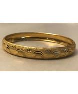 vintage bracelet goldtone Size 8 - $4.95