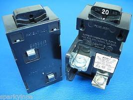 Pushmatic Bulldog Ite Siemens 20 Amp P120 Breaker Very Nice Condition! - $14.80