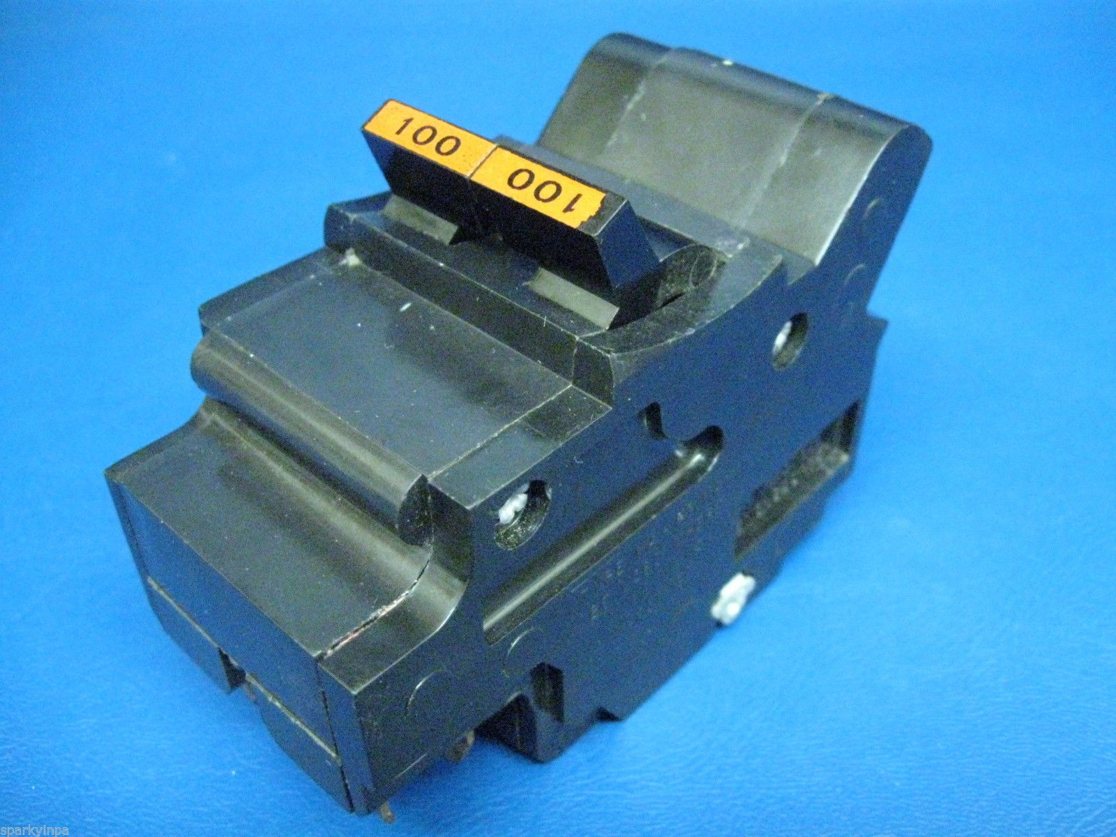 Federal Pacific Stab Lok 100 Amp Type Na And 50 Similar Items Breaker Box With A Circuit Panel Stablok In Great Shape