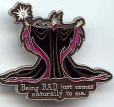Disney Maleficent  Being BAD Pin/Pins - $29.02
