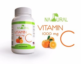 2 Natural Premium Non-GMO Vitamin C, 1000mg, Sw... - $18.76
