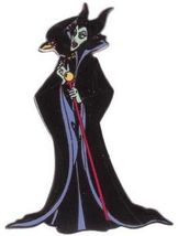 Disney Maleficent & raven Diablo from Sleeping Beauty  Pin/Pins - $49.99