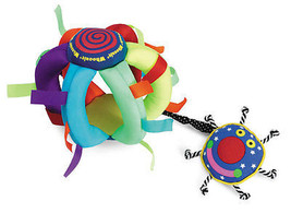 Whoozit Wiggle Ball Baby Activity Toy by Manhat... - $16.82