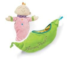 Snuggle Pods Sweet Pea Plush Baby Toy Manhattan... - $19.79