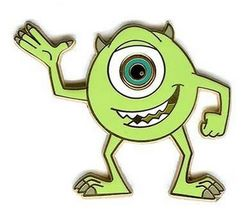 Disney  Mike one Eye  Inc  pin/pins - $29.02
