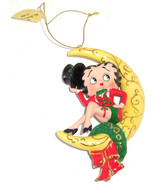 Betty Boop Moonlit Holiday Ornament Christmas Top Hat Outfit Danbury Min... - $39.95