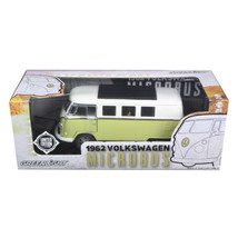 1962 Volkswagen Microbus Olive Green Limited to 300pc 1/18 Diecast Model Car ... - $67.86