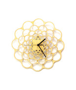 Coral - unique modern wooden wall clock made us... - $79.00