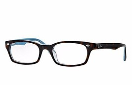 Ray Ban Eyeglasses Women's RB5150 5023 Havana/Blue 50mm Frame Plastic - $72.75