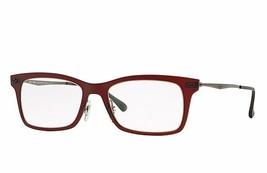Ray Ban Eyeglasses RB7039 54 Matte Brown 53mm Frame Plastic - $72.75