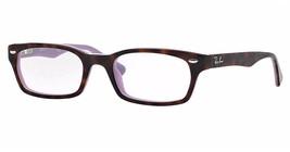 Ray Ban Eyeglasses RB5150 5240 Tortoise/Purple  50mm Frame Plastic - $72.75