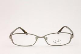 Ray Ban Rectangular Unisex RB8686 1000 Silver Havana Titanium Eyeglasses  54mm - $92.15