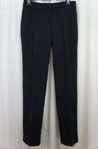 Laundry Dress Pants Sz 2 Dark Moonlight Blue Modern Fit Straight Leg Car... - $59.35