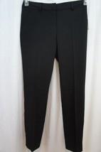 Laundry Dress Pants Sz 4 Black Twill Modern Fit Career Straight Leg Pant   - $59.35